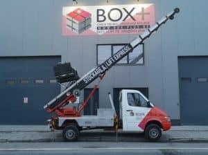 Besoin d'un service de lift ou monte-charge pour vos meubles ? Faites confiance à Box +
