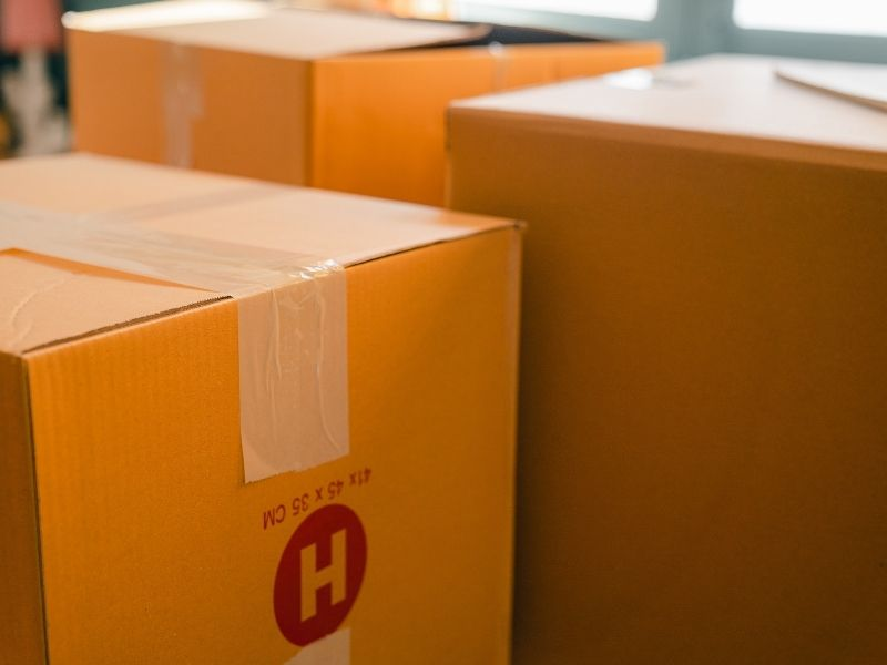 Déménagement Liège - boîtes de déménagement