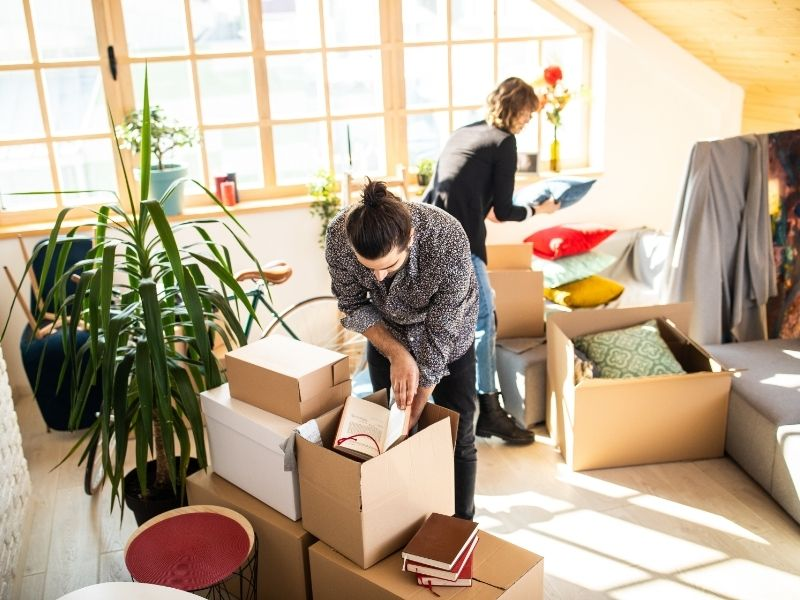 Déménagement Liège  - Tri de l'appartement