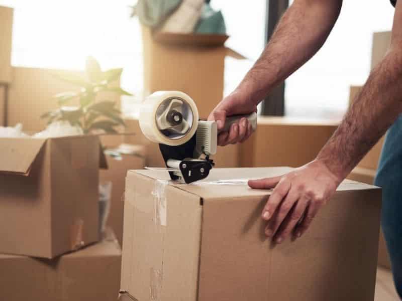 déménagement emballer les objets fragiles