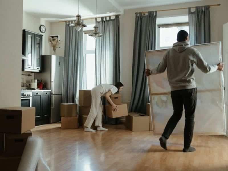 déménagement liège nouvel appartement
