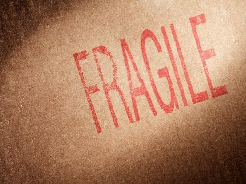 déménagement objet fragile