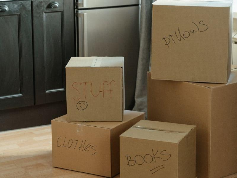 étiqueter ses cartons emballages déménagement
