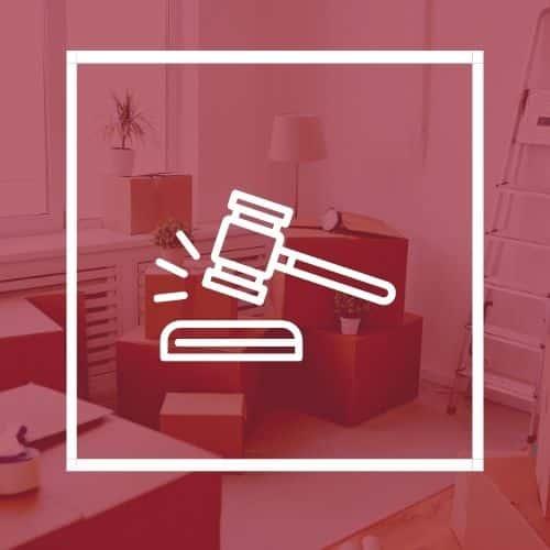 déménagement et litige
