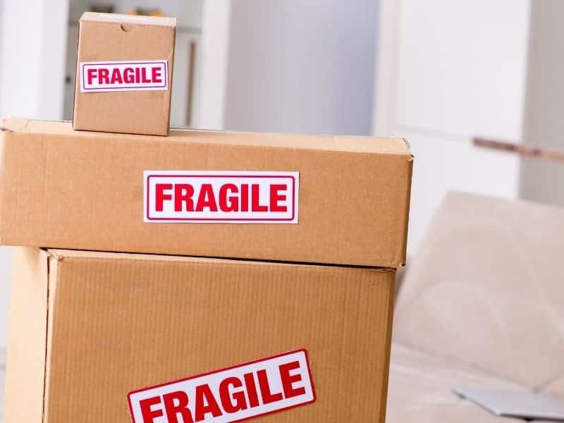 Cartons d'emballage pour vos objets fragiles - Déménagement