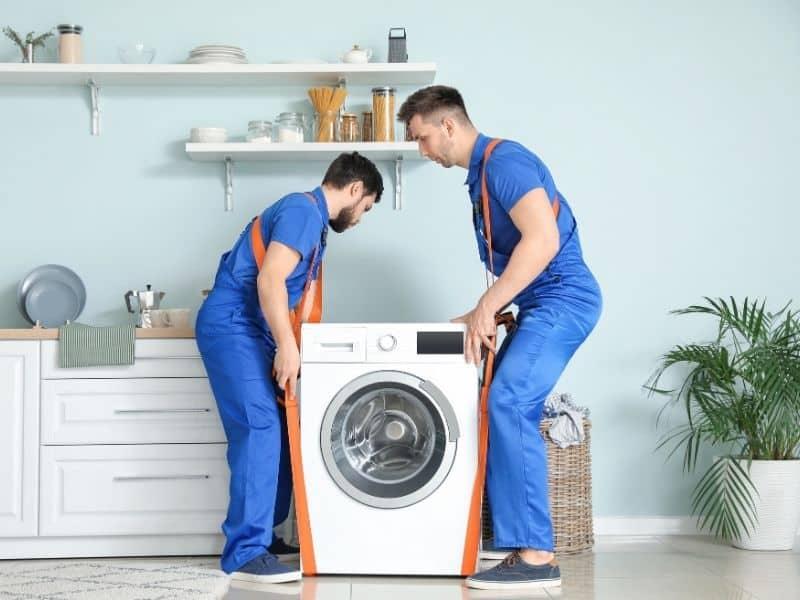 Déménagement d'un lave-linge
