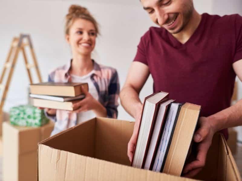 tri déménagement cartons