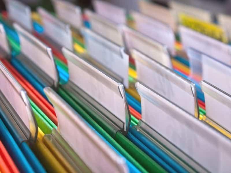 tri documents déménagement