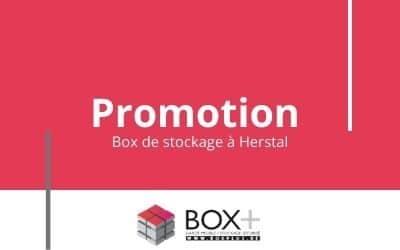 PROMO sur les boxs de stockage en mai
