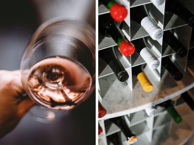 déménagement de la cave à vin